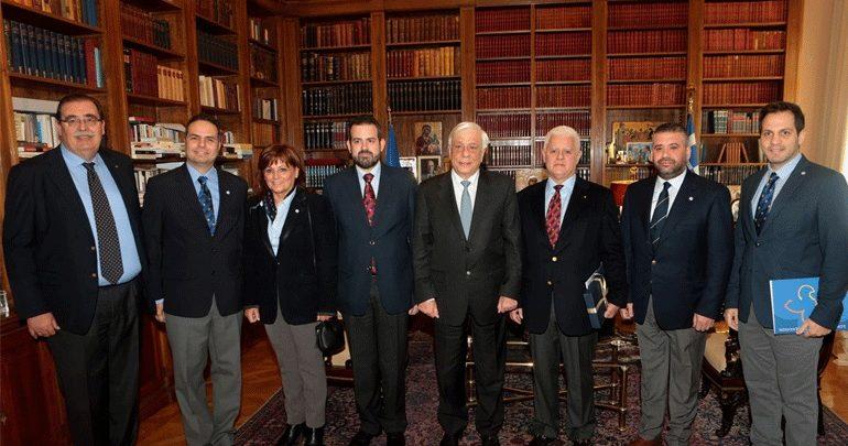 Συνάντηση Παυλόπουλου με μέλη του Σώματος Ελλήνων Προσκόπων