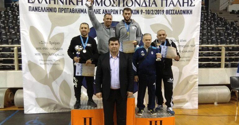 Πάλη: Ευκαρπία και Ήφαιστος Βαθυλάκου πρωταθλητές Ελλάδας