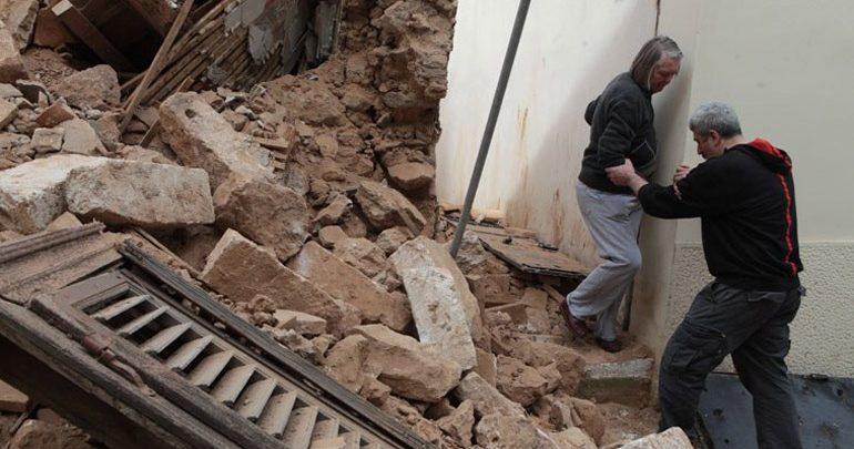 Ανακοίνωση του Δήμου Αθηναίων για τις καταρρεύσεις κτηρίων