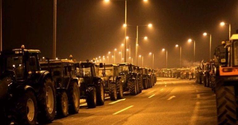 Αποκαταστάθηκε η κυκλοφορία στη νέα εθνική οδό Πατρών - Πύργου που είχαν αποκλείσει οι αγρότες