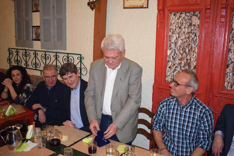 Έκοψε την πίτα του ο Σύνδεσμος Κριτών Μπάσκετ Λάρισας