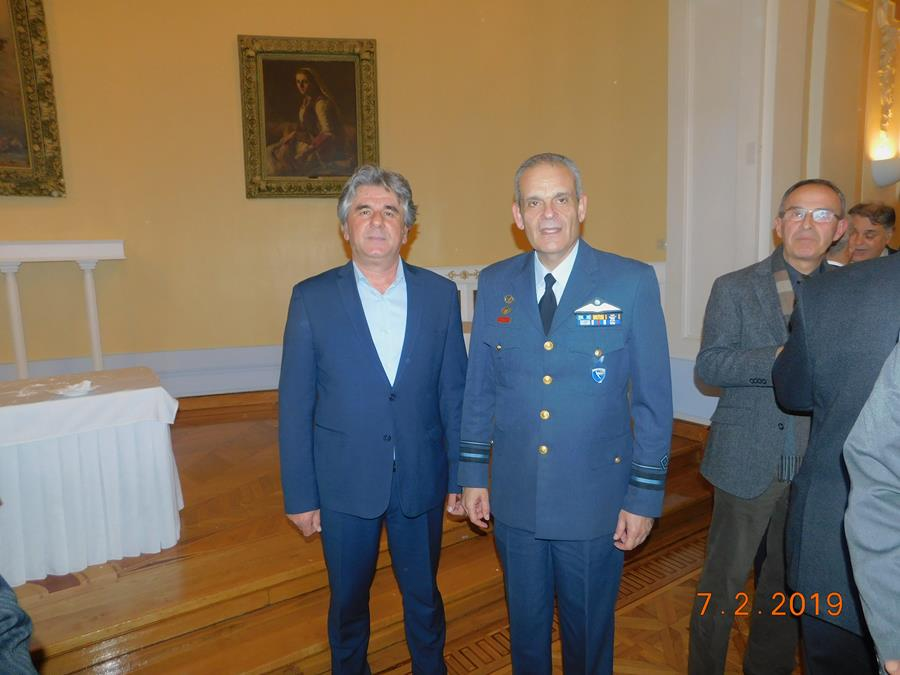 Λαρισαίοι αεροπόροι βραβεύθηκαν από την Ένωση Απόστρατων Αξιωματικών Αεροπορίας