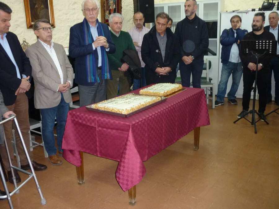 Έκοψε πίτα η Φιλαρμονική Λάρισας παρουσία Καλογιάννη (φωτο)
