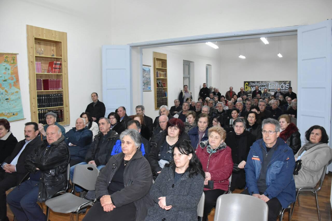 Εκδήλωση της Λαϊκής Συσπείρωσης του Δήμου Τεμπών