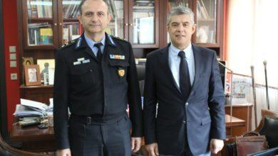 Συνάντηση Αγοραστού με τον νέο Περιφερειακό Διοικητή Πυροσβεστικών Υπηρεσιών Θεσσαλίας