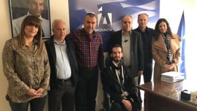 Τη Λάρισα επισκέφθηκε ο υποψήφιος ευρωβουλευτής της Νέας Δημοκρατίας Στέλιος Κυμπουρόπουλος (φωτό)