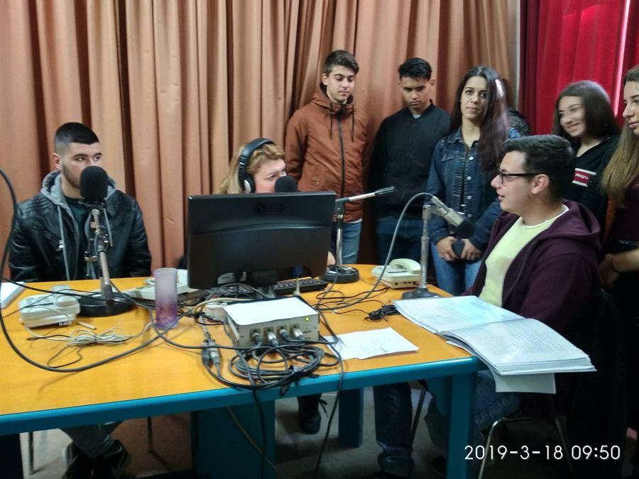 Μια διαφορετική ημέρα Μάθησης για την Θεατρική Ομάδα του ΕΠΑΛ Τυρνάβου