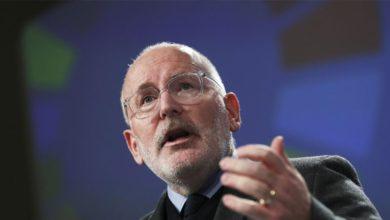 Τίμερμανς στη FAZ: «Όχι» σε συνεργασία με τη Δεξιά για την ηγεσία της Κομισιόν