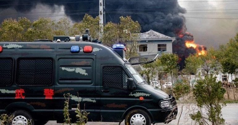 Κίνα: Έξι νεκροί και δεκάδες τραυματίες από την έκρηξη σε χημικό εργοστάσιο
