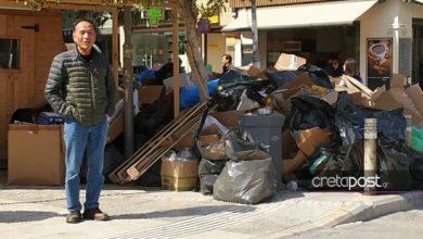 Τα ποντίκια κάνουν… πάρτι στους σωρούς των σκουπιδιών στο Ηράκλειο