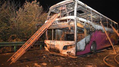 Κίνα: 26 νεκροί από φωτιά σε τουριστικό λεωφορείο