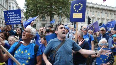 Brexit: Μεγάλη πορεία στο Λονδίνο με αίτημα τη διεξαγωγή νέου δημοψηφίσματος