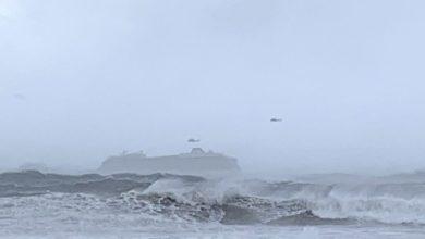 Νορβηγία: 136 άνθρωποι έχουν ήδη απομακρυνθεί με ελικόπτερα από το κρουαζιερόπλοιο