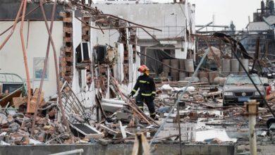Κίνα: Στους 78 ανήλθε ο αριθμός των νεκρών από την έκρηξη σε χημικό εργοστάσιο