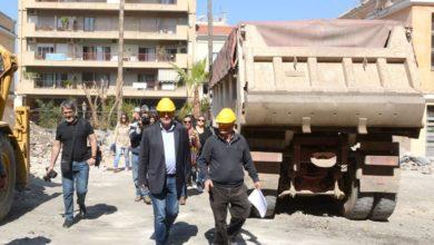 Πάτρα: O Κ. Πελετίδης ενημερώθηκε για τις εργασίες ανακατασκευής σε Παλαιό Αρσάκειο και Μανιακίου