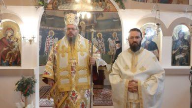 Στον πανηγυρίζοντα Ιερό Ναό των Αγίων Θεοδώρων Λαρίσης ο Ιερώνυμος