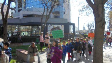 Μαθητές διαδήλωσαν με σύνθημά τους «ένα καθαρό πάρκο Μπουκουβάλα»