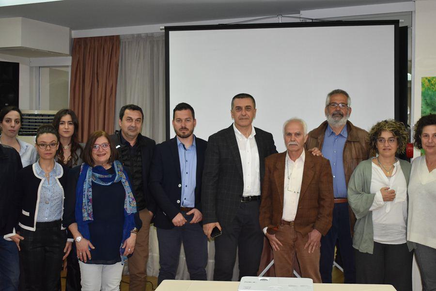Οι Λαρισαίοι υποψήφιοι Περιφερειακοί Σύμβουλοι του Δημήτρη Κουρέτα (φωτο)