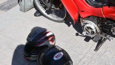 Τροχαίο στο κέντρο της Λάρισας: Στο νοσοκομείο 30χρονος κούριερ - Δείτε φωτογραφίες