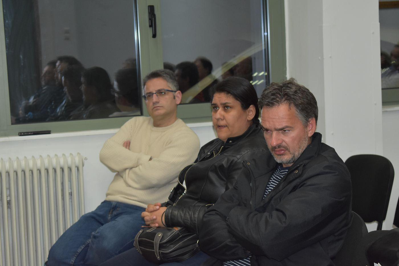 Σύσκεψη για τις εξελίξεις στη ΓΣΕΕ πραγματοποίησαν συνδικαλιστές του ΕΚΝΛ (φωτο)