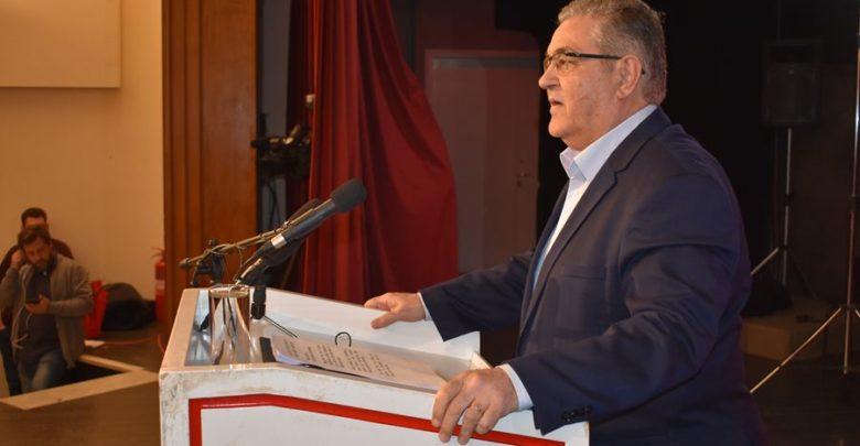 «Αντεπίθεση! Αντεπίθεση με ισχυρό το ΚΚΕ παντού» ζήτησε ο Δ. Κουτσούμπας από τη Λάρισα (φωτο - βίντεο)