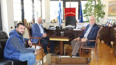 Συνάντηση Μπαργιώτα - Καλογιάννη στο δημαρχείο
