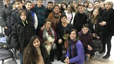 Γνωρίζοντας τις συνέπειες του πολέμου και του ρατσισμού - Ενημέρωση μαθητών του 9ου Γυμνασίου Λάρισας