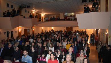 Πλήθος κόσμου στον εορτασμό της 25ης Μαρτίου από τα κατηχητικά σχολεία της Μητρόπολης Λαρίσης (φωτο)