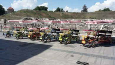Ο Λαρισαίος επιχειρηματίας που έφερε την ομαδική «ποδηλατάδα» στην πόλη (φωτό)