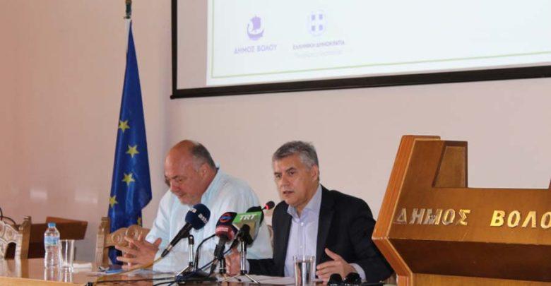 Έργα 4,6 εκατ. ευρώ χρηματοδοτεί η Περιφέρεια Θεσσαλίας στο Δήμο Βόλου
