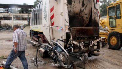 Απορριμματοφόρο συγκρούστηκε με αυτοκίνητο έξω από τη Λάρισα