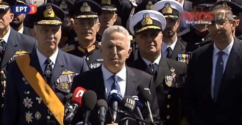 Αποστολάκης: Οι ένοπλες δυνάμεις είναι εδώ για να προστατεύουν την εθνική ακεραιότητα και ανεξαρτησία (βίντεο)