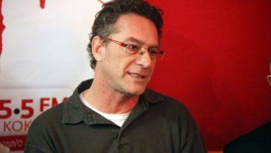 Στη Λάρισα ο υποψήφιος ευρωβουλευτής του ΣΥΡΙΖΑ Κώστας Αρβανίτης