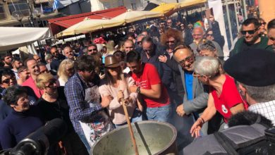 Πειράγματα, σαρακοστιανά και γλέντι για τους επισκέπτες στο Μπουρανί του Τυρνάβου (φωτό)