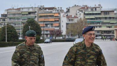 Επίσκεψη στη Λάρισα πραγματοποιεί ο νέος αρχηγός ΓΕΣ Γεώργιος Καμπάς - Δείτε φωτογραφίες
