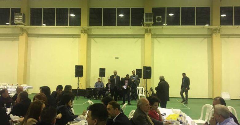 Στους Γόννους ο Δήμαρχος Τεμπών, στον ετήσιο χορό της ποδοσφαιρικής ομάδας Όλυμπος