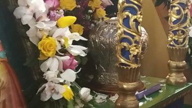 Πλήθος πιστών υποδέχθηκε την Τίμια Κάρα Αγίου Νικολάου Πλανά στη Λάρισα (φωτο - βίντεο)