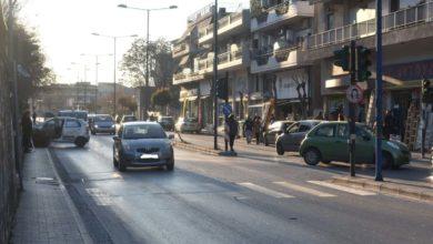Τροχαίο στο κέντρο της Λάρισας – Σύγκρουση δύο οχημάτων (φωτο)