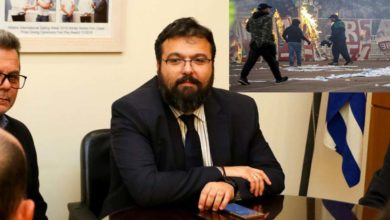Ο Βασιλειάδης στη Βουλή: Ταυτοποιήθηκαν δύο άτομα για τα επεισόδια στο ΟΑΚΑ