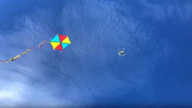 Απίστευτη πατέντα Τρικαλινού να πετάξει τον χαρταετό από πάνω προς τα κάτω! (βίντεο)