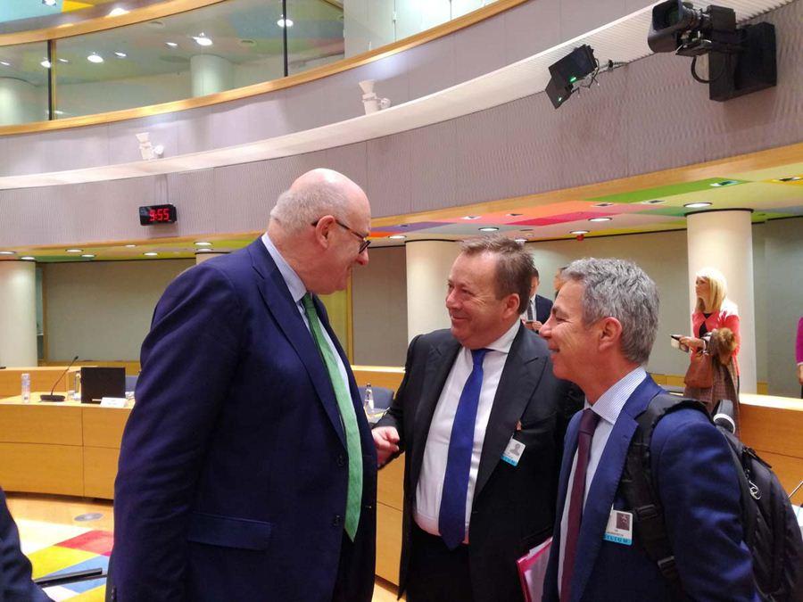 Κόκκαλης από το Συμβούλιο Υπουργών Γεωργίας της Ε.Ε.: Περισσότερος διάλογος για μία δικαιότερη ΚΑΠ μετά το 2020