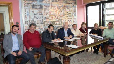 Συμβάσεις για Βρεφονηπιακό Σταθμό στην Ανθούπολη και αθλητικές υποδομές στην Τούμπα υπέγραψε ο Δήμος Λαρισαίων