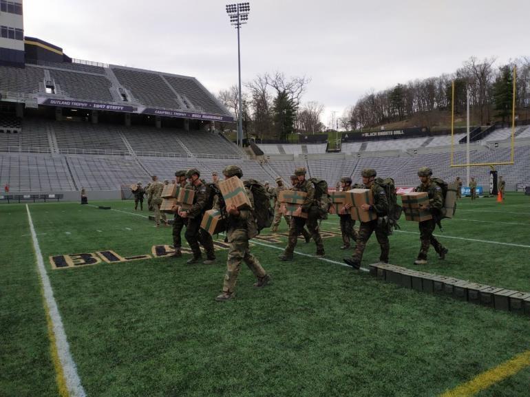 Ομάδα της Σχολής Ευελπίδων σε διαγωνισμό της Στρατιωτικής Ακαδημίας των ΗΠΑ