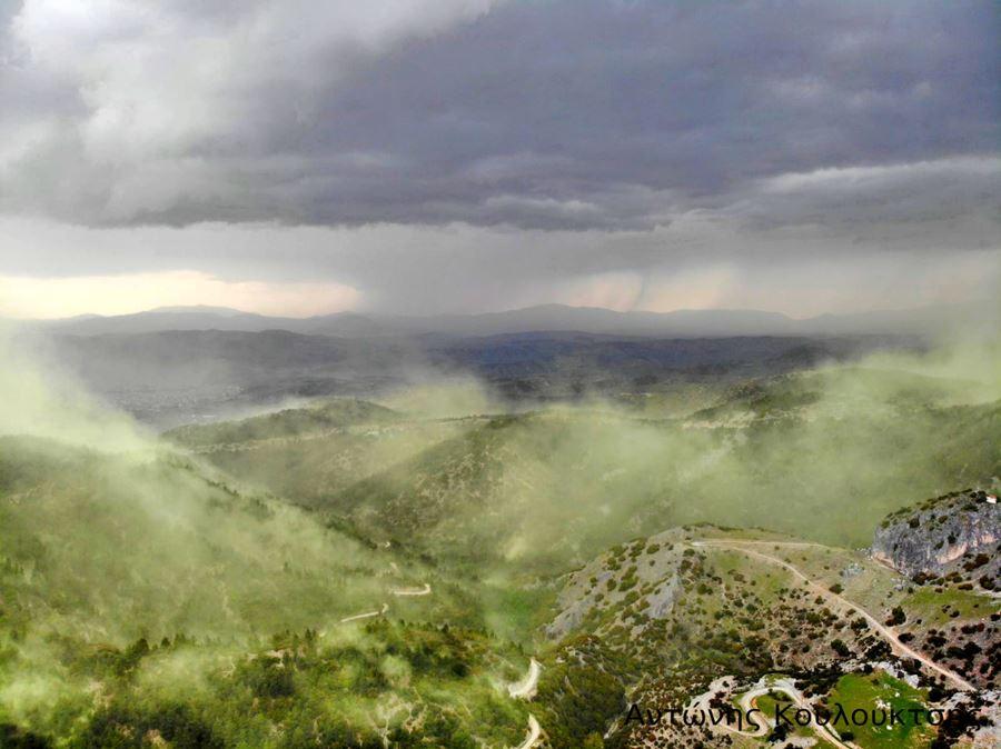 Το φαινόμενο του «Βόρειου Σέλας» στον ουρανό της Ελασσόνας - Εντυπωσιακές εικόνες