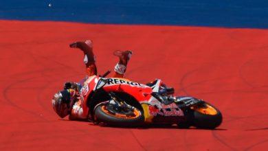 MotoGP2019: Η πτώση του Marquez στην Αμερική