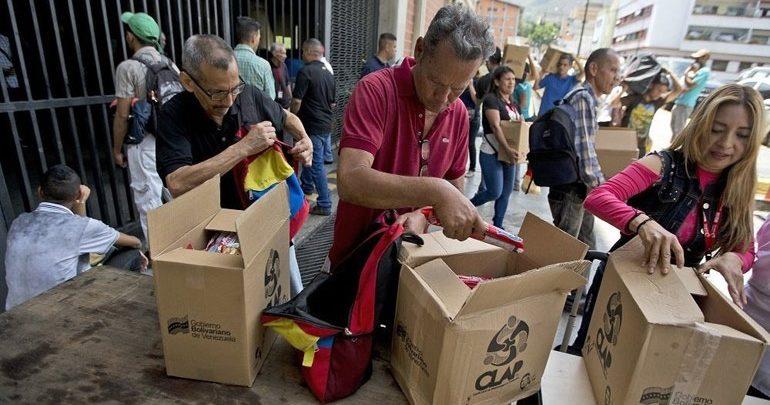 Έφτασε στη Βενεζουέλα το πρώτο φορτίο ανθρωπιστικής βοήθειας του Ερυθρού Σταυρού