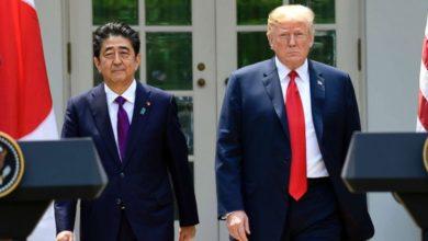 Συνάντηση Τραμπ - Άμπε στο Τόκιο στα τέλη Μαΐου