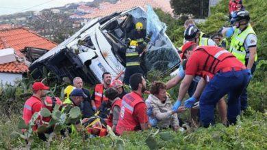 Πορτογαλία: Φόρος τιμής στη μνήμη των τουριστών που σκοτώθηκαν στο δυστύχημα με το λεωφορείο