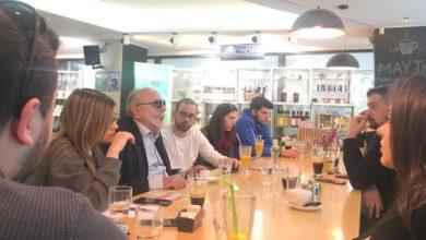 Συνάντηση Π. Κουρουμπλή με νέους: «Υποχρέωσή μας να ακούμε τη νέα γενιά»