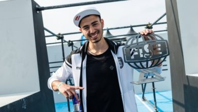 Ο Δημήτρης Κυρσανίδης νικητής στο παγκόσμιο κύπελλο παρκούρ της Χιροσίμα